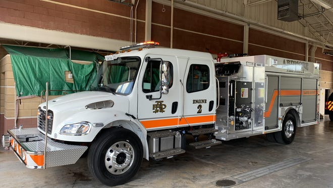 The Ardmore Fire Department received a new fire engine on Wednesday of last week. The truck is expected to be in service by Friday, June 12 and will replace a nearly 20-year-old fire truck.