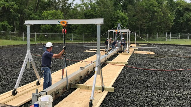 Crews completed repairs this week at the Port Jervis Water Resource Recovery Facility.