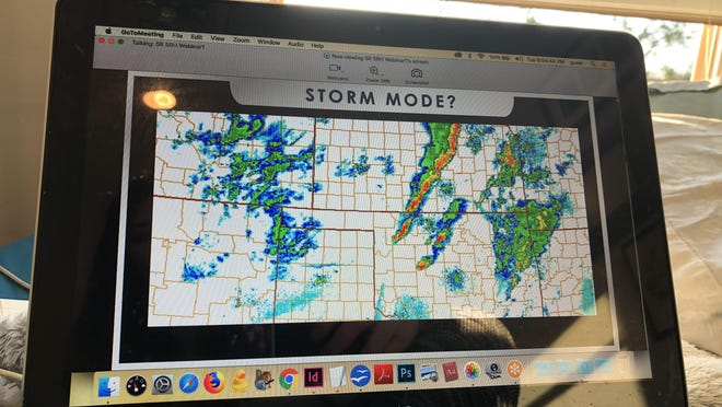 The National Weather Service held an online storm spotter training webinar March 24 in place of events which were canceled due to COVID-19 concerns.