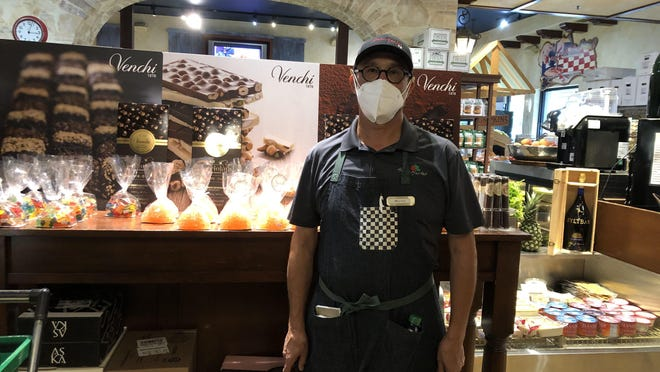 Maurizio Ciminella, managing partner of Amici Market, made sure his business was stocked during the pandemic. He says that the last weeks have been rewarding.