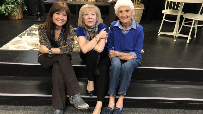 Palm Beach Institute for the Entertainment Arts Advisory Committee members Lisa Wood, left, and Carmen Magri, right, along with managing director Donna Carbone, center, have worked to keep actor Burt Reynolds' memory alive inside the North Palm Beach institute that until last fall bore his name. Reynolds taught acting classes at the institute for more than a decade.