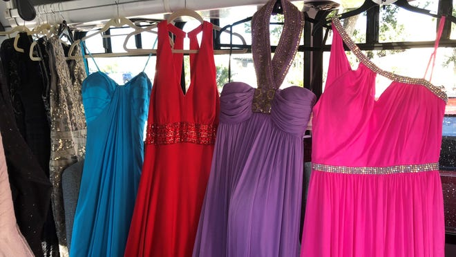 PROMmisses, sponsored by the Mirasol Foundation, helps outfit high school seniors in Palm Beach County who cannot afford to buy a prom dress. The foundation has set up a pop-up store in The Gardens Mall through February.