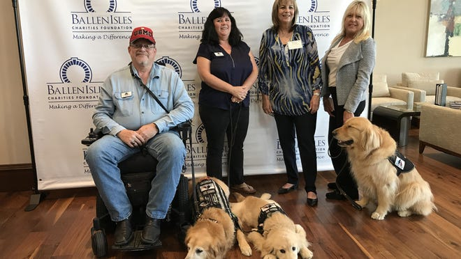 Paws 4 Liberty was among 42 local nonprofit and civic organizations that received grants last week from the BallenIsles Charities Foundation.