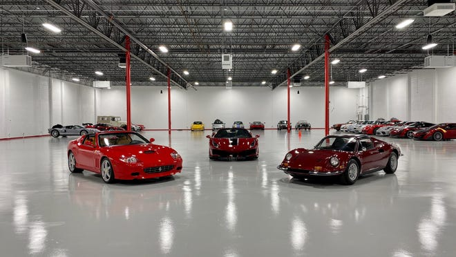 K2 Motorcars' Jupiter facility, which can store up to 190 cars.