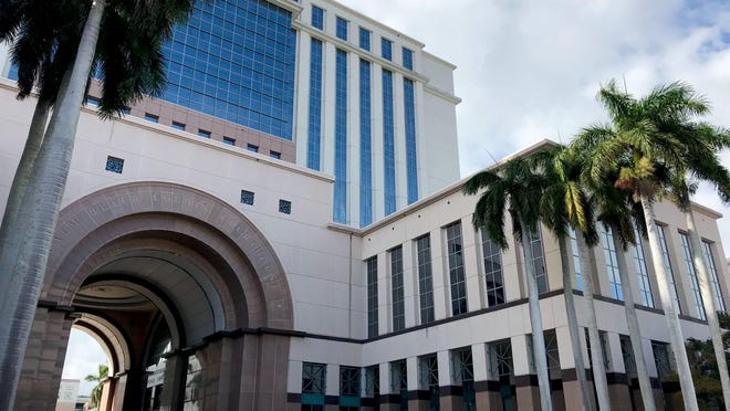 The Judge Daniel T.K. Hurley Courthouse on Jan. 3, 2019 in West Palm Beach.