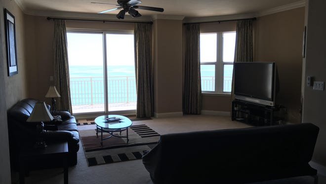 This luxurious Mediterranean direct-oceanfront condominium was custom built and designed, with an open and bright floor plan to make the most of the amazing views of the Atlantic Ocean.