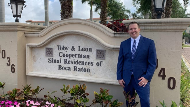 Chris Newport, executive director of Sinai Residences in Boca Raton.
