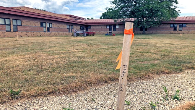 The new Early Learning Center will be built just behind Rittman Elementary School.