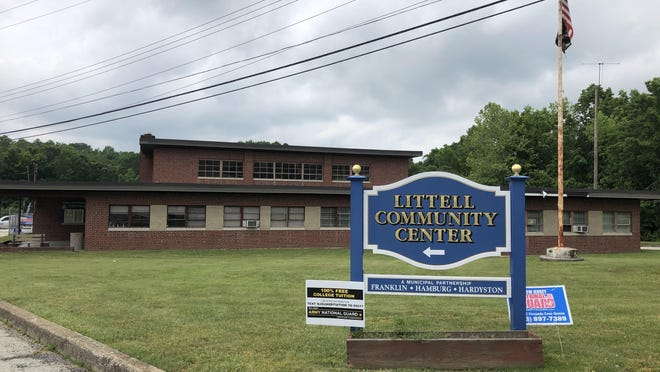 The Littell Community Center, pictured here Friday, June 5, will permanently close to residents of Hardyston, Franklin and Hamburg on June 30.