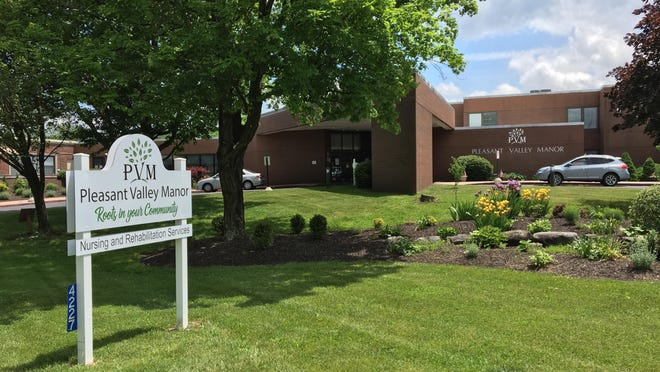 The Wolf administration announced Monday that all residents and staff at Pennsylvania nursing homes must be tested for COVID-19 no later than July 24. The administration also released updated guidance for long-term care living facilities like Stroudsburg's Pleasant Valley Manor, pictured here, which have been hit heavily by the COVID-19 pandemic.