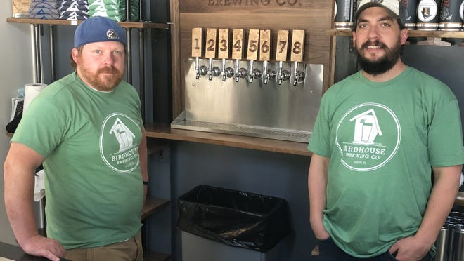 Scott Gillen and Greg Searles operate Birdhouse Brewing Co. in a location known among Honeoye folks as the bird house.