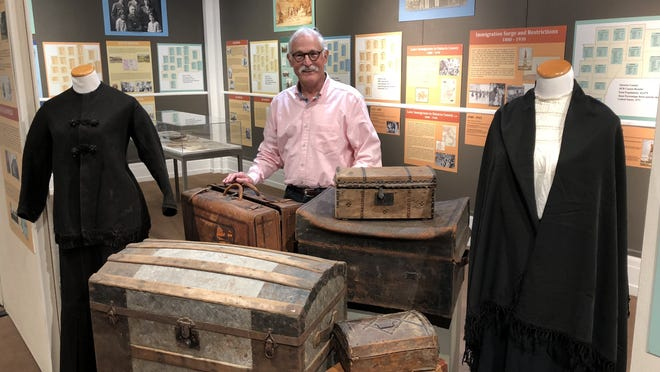 Ed Varno, who retired as executive director of the Ontario County Historical Society Thursday, July 23, after 25 years, is credited with saving the organization and museum and moving them into the 21st century.