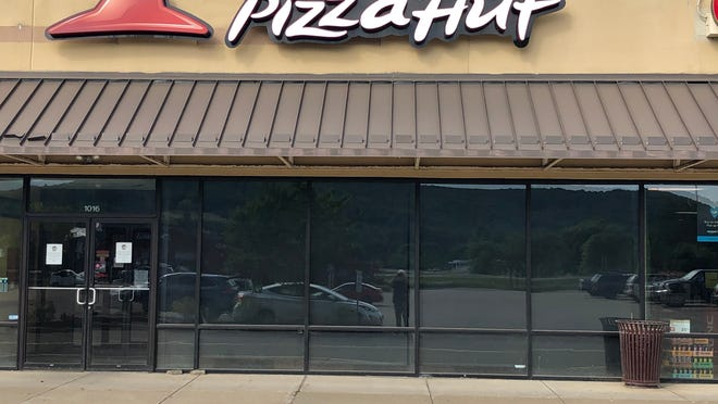 The Hornell Pizza Hut restaurant in the Hornell Plaza was one of 17 locations in Western New York to be permanently closed by the franchisee last week.