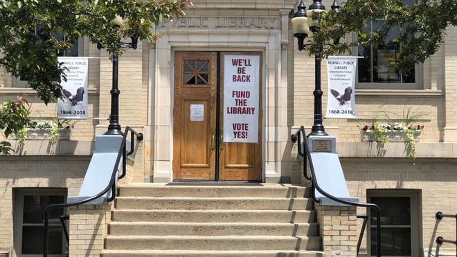 A Hornell Public Library proposition asking for authorization to increase its annual tax levy from $184,700 to $334,700 will be decided voters June 9. Residents are voting by absentee ballots.
