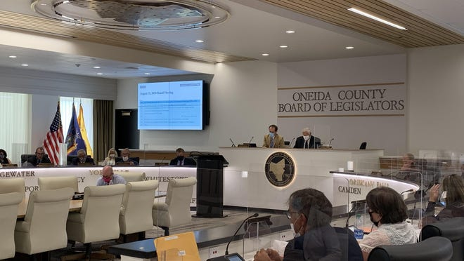 The Oneida County Board of Legislators voted unanimously Wednesday to bond for an additional $40 million to complete the a county sewer project.