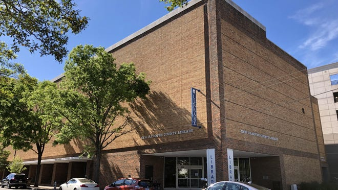 The downtown New Hanover County library and other branches will begin a limited reopening on Monday.
