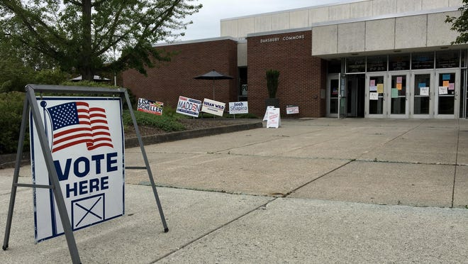 The polling location at ESU's Dansbury Commons hosted four East Stroudsburg wards for Tuesday's primary election, though turnout was relatively low.