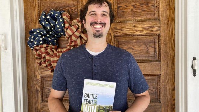 Harold 'Marty' Zimmerman III has written the 30-day devotional 'Battle Fear and Win.' SHAWN HARDY/THE RECORD HERALD