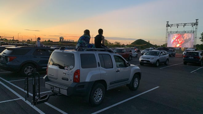 The drive-in movie experience has seen a resurgence recently.