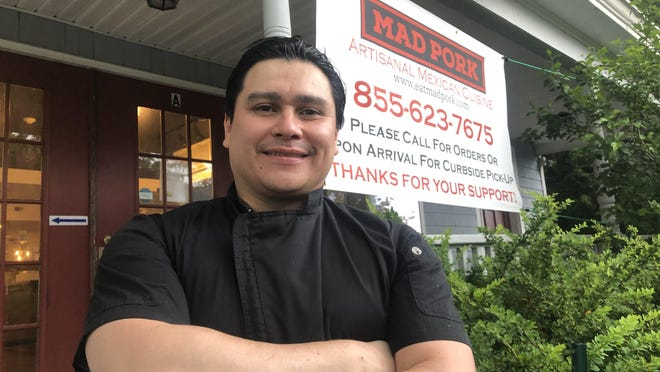 Hugo Castellanos recently opened the Mexican restaurant Mad Pork in North Hampton.