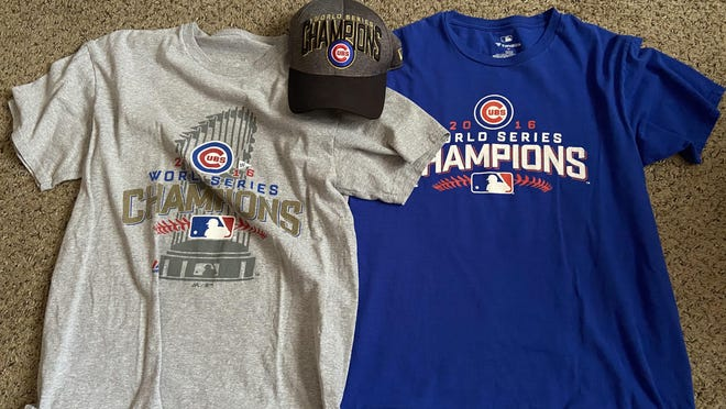 Immediately following the World Series in 2016, Pueblo West View Associate Editor Luke Lyons bought two shirts and a hat to commemorate the Cubs first title since 1908.