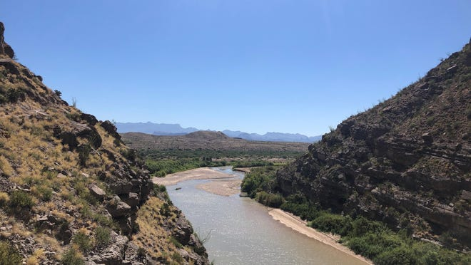 View of Santa Elena Canyon at Big Bend National Park June 6.