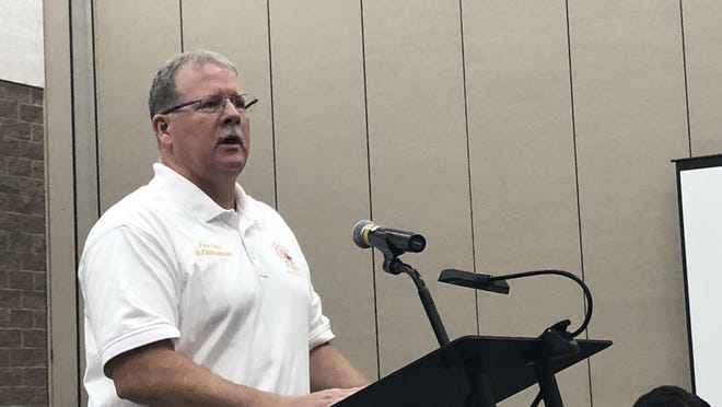Fort Smith Fire Chief Phil Christensen was approved Tuesday by the Fort Smith Board of Directors to purchase a coronavirus-killing chemical generator that costs about $46,000.