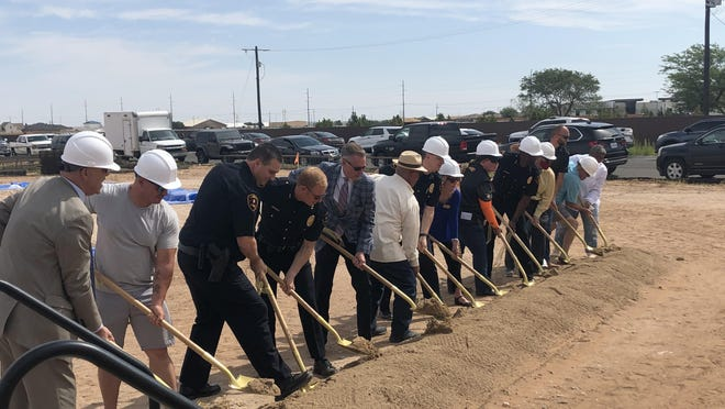 The City of Lubbock hosted a groundbreaking ceremony Friday morning for the third police substation that'll go at 5910 Erskine Street.