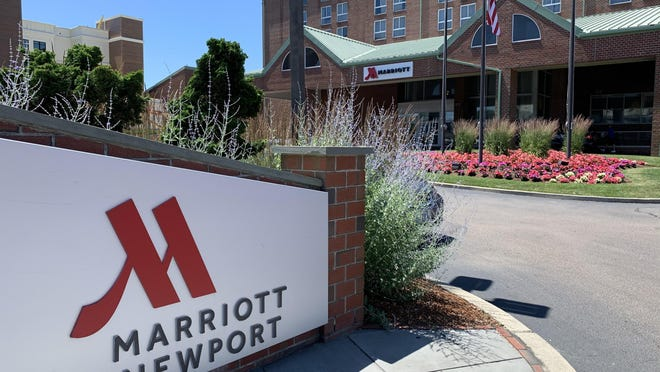 The Newport Marriott on America's Cup Avenue.