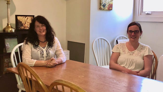 Chase Home Executive Director Meme Wheeler, left, and Cory Towne-Kerr, manager of the home's Seacoast Community Diversion Program, which holds youth accountable for disruptive behavior while providing education and support services.