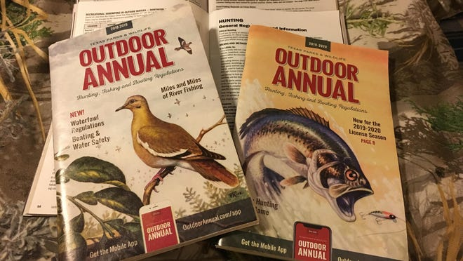 Have a copy of the Texas Parks and Wildlife Department's Outdoor Annual? Then you might want to save it as as a collector's item. That's because TPWD has announced that the longstanding regulations booklet will go all digital this year and no longer be printed due to the economic effects of the COVID-19 pandemic as well as recent information consumption trends.