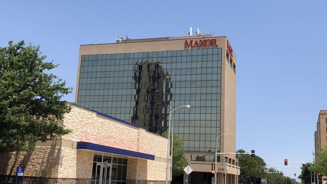 Maxor Building in downtown Amarillo.