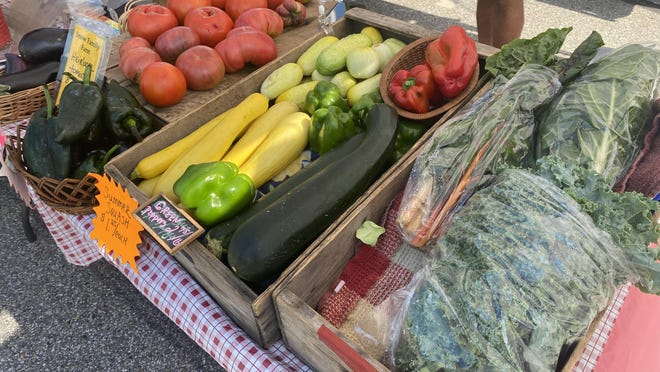 The Rochester Farmers Market offers fresh produce.