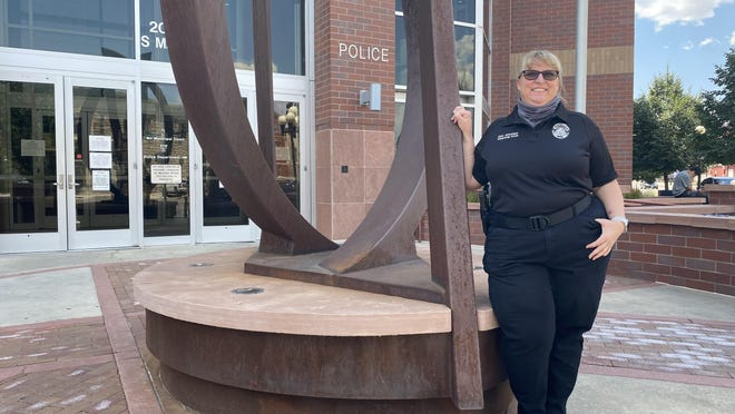Cpl. Melissa Jacober is one of four Pueblo Police Department staff who contacted COVID-19. She wanted to donate her plasma to help battle the pandemic, but she didn't meet criteria from the CDC.