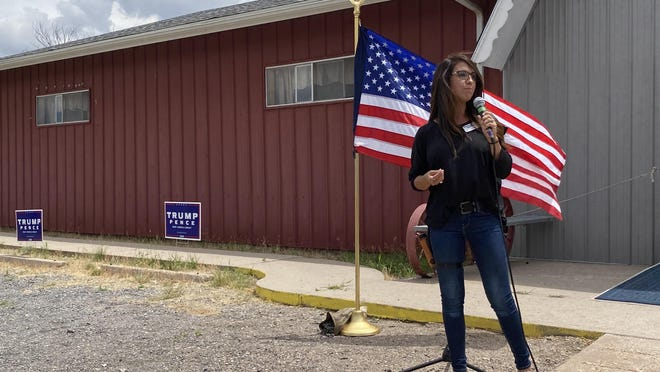 Boebert, a 33-year-old mother of four boys, challenged Rep. Scott Tipton in a primary and beat him for the Third District, which includes the Western Slope and Southern Colorado, ending in the east with Pueblo County.