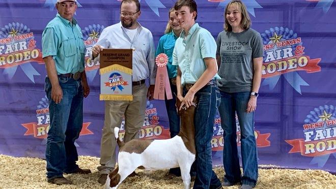 Kyle Vahlenkamp - Reserve Grand Champion Market Goat