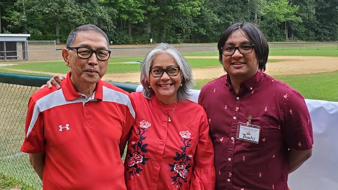 Freddy, Poppy and Timothy Sombah came to celebrate the 75th Indonesian Independence Day at the Maranatha Indonesian Church in Madbury, and to tell the story of their court battles to avoid deportation. The Somersworth family has been granted asylum.