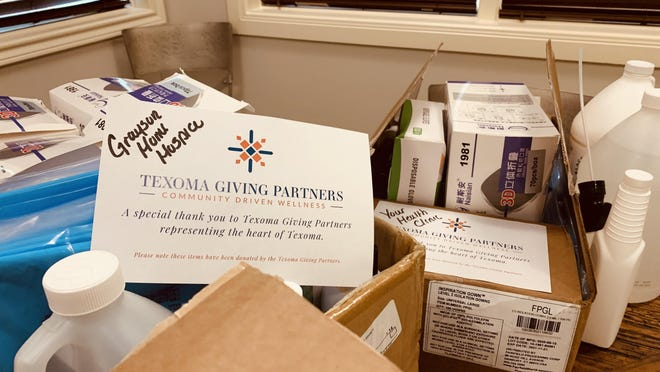 The Texoma Health Foundation is collecting supplies for area non-profits during the ongoing COVID-19 pandemic.