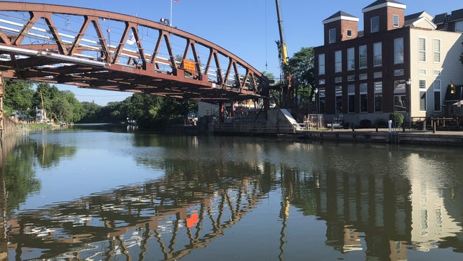 The Erie Canal in the village of Fairport looks even better when dining outside for breakfast or lunch. Particiants in the Canalway Challenge can explore food and beverages offered in canal communities.