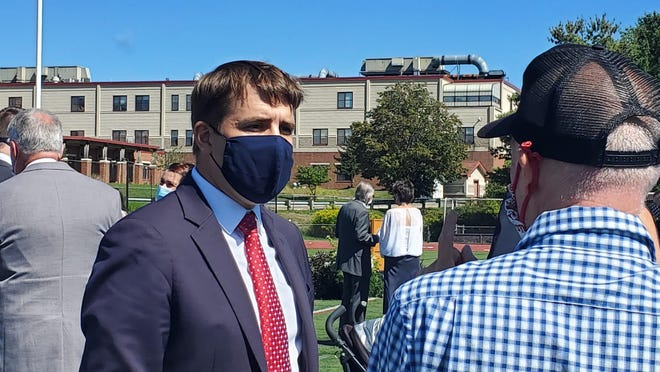 State law enforcement officials told Rep. Chris Pappas, D-NH, Monday morning that mental health matters continue to be prominent as police respond to calls during the pandemic.