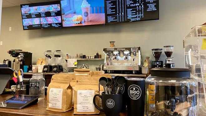 Brio Coffeehouse Inc. recently opened their Greencastle location at 112 S. Antrim Way. PROVIDED PHOTO