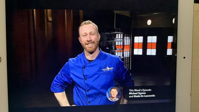 """Chef Evan Hennessey of Stages at One Washington restaurant in Dover won last night's compeition on the Food Network's """"Chopped"""" to advance to the final round of competition which will air Sept. 6."""