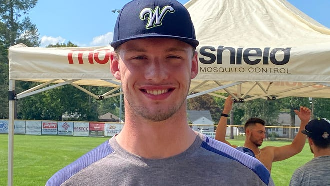 John West of Shrewsbury is enjoying his summer with the Worcester Bravehearts before heading to Boston College later this month.