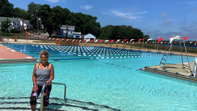 Diana Ringer, the head lifeguard at Greenwood Pool, says the popular outdoor facility will open on Wednesday, July 1, with some restrictions in place due to the COVID-19 pandemic.