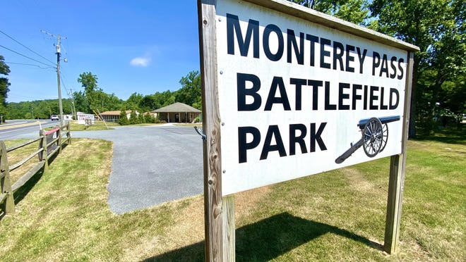 A cannon demonstration is set to take place this weekend at Monterey Pass Battlefield Park in Blue Ridge Summit. JOHN IRWIN/ THE RECORD HERALD