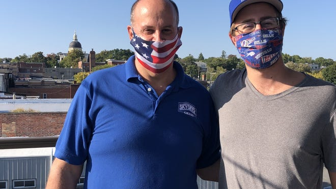 Peter and Nick Fabbio are on top of Canandaigua as the season winds down at the Skydeck, on the rooftop over their Nick's Chophouse restaurant at Main and Beeman streets downtown.