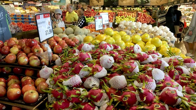 Austin's international stores, including H Mart, sell fresh produce and products from around the world.