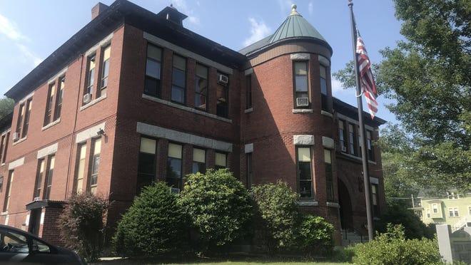 The Hudson school administration headquarters.