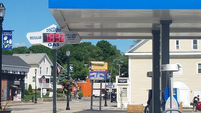 A gallon of regular unleaded gas was selling for $1.89 as of Sunday afternoon at Discount Gas in downtown Marlborough.