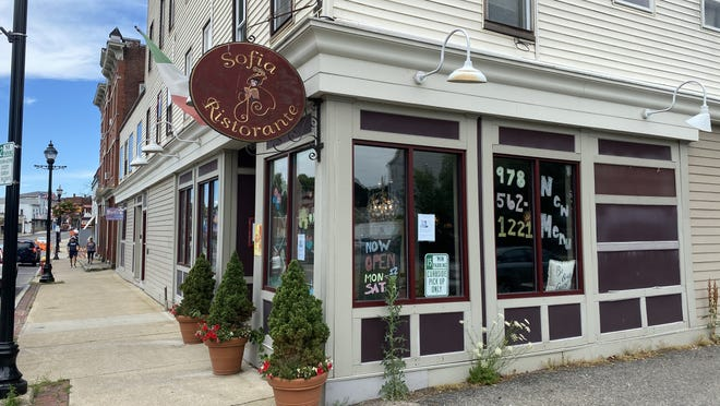 Sofia Ristorante will close Saturday after nearly 20 years in business on Hudson's Main Street.